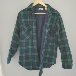 L.L. Bean | Vintage Flannel Button Down Jacket